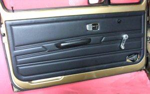 Panneaux de portes - sellerie habillages intérieur - VW Golf 1