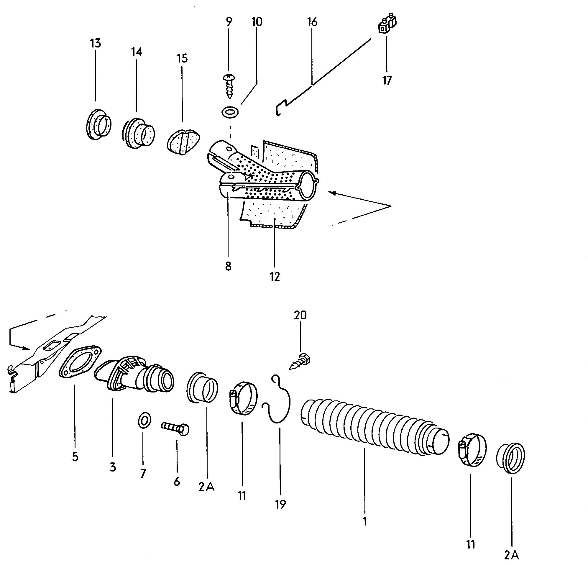 Systeme de chauffage arriere