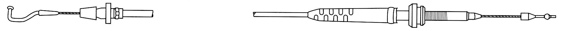 Câble d'accélérateur Golf 2