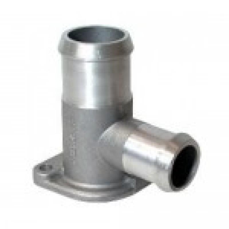 Raccord d'eau en aluminium sur culasse T25 79-->90 avec montage pour la sonde W121431 Sur www.vw-discount.net