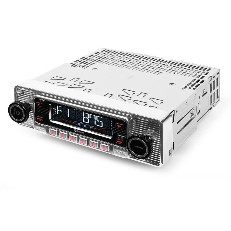 Autoradio RETRO  CD/ MP3/ AUX/ USB/ SD/ MMC