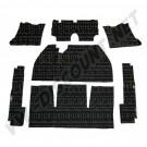 Kit moquette noir 7 pièces berline 69-->72