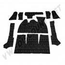 Kit moquette noir cabriolet 8/68-->07/71