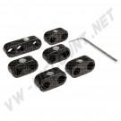 Séparateurs noirs pour fils de bougies 00-8751-0