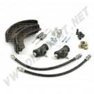 Kit frein  avant 7/67-->> 1200/1300