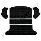 Moquette de coffre ar noir berline 65---->>