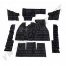 Kit moquette noir berline 1302