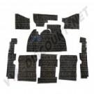Kit moquette noir berline 1303