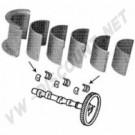 Coussinet d'arbre à cames STD carter - 0.50 arbre