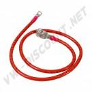 Câble de batterie positif pour les systèmes électriques 6v et 12v> 1950-1966 111 971 225 111971225 | Dream-Machine.fr