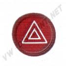 Pastille de bouton de warning