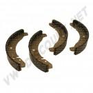 113698537C machoires (4) avant 1200-1300 65- et arrière tous modèles 8/67- (230x40mm)