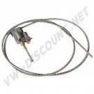 117877305A Cable de toit ouvrant gauche 63-->1977 sauf 1303