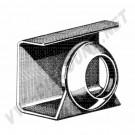 Joint sur goulotte de remplissage de réservoir  Karmann Ghia 68 ->74 141 201 135 141201135  | Dream machine