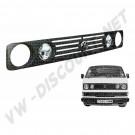 Calandre haute 2 phares pour VW Transporteur 86 ->92