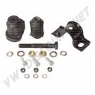 171498153S Kit de 2 silentblocs + nécessaire de montage pour 1 triangle de suspension pour Golf 1