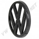 Sigle de calandre 95 mm Noir pour Golf 1 171853601041 171 853 601 041 VW  | dream-machine.fr
