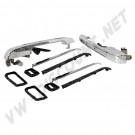 Kit de 2 poignées arrière chromées pour - Golf 1 & Jetta 08/80 ->84 - Golf 2 & Jetta 84 ->92 171 898 300C 171898300C | Dream-Machine.fr