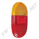 211945241D Cabochon de feu arrière orange / rouge Combi 62-->71