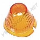 Cabochon de clignotant obus orange combi split 60--->>63