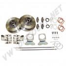 Kit freins à disque ar 5 trous (5x205)  22-2905-0| Dream-Machine.fr
