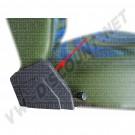 Cache plastique d'articulation de siège avant, côté Gauche 8/1973-7/1979