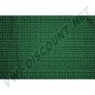 Tissu de rideau vert 1.40m de large ( le metre )