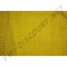 Tissu de rideau jaune 1.40m de large ( le metre )