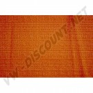 Tissu de rideau orange 1.40m de large ( le metre )