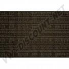 Tissu de rideau marron 1.40m de large ( le metre )