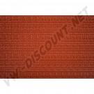 Vinyl de siège et panneaux de cabine avant Westfalia, Orange, largeur 130cm par longueur de 100cm