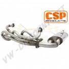 Echappement CSP Python Inox 38mm Combi 72-->79