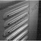 Kit baguettes inox poli pour aération arrière combi split 51---->>55