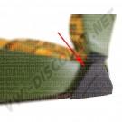 Cache plastique d'articulation de siège avant, côté Droit 8/1973-7/1979
