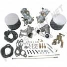 Kit complet de 2 carburateurs 34mm moteur 1700-2000cc CB Performance