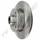 Disque de frein arrière (4x100) plein 226x10mm pour Golf 2 et 3 357615601