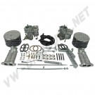 43-4400-0  Kit 2 carburateurs Empi/Kadron double admission 40mm Solex  840€