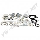 Kit complet de 2 carburateurs T4 Weber 34ICT moteur 1700-2000cc