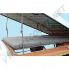 """Kit Fixations et accessoires inox pour fabrication d'un lit """"Continental"""" 2 places sous le toit levant, à la place du lit hamac, Westfalia 8/1967-7/1973"""