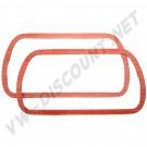 2 Joints de cache culbuteurs en silicone moteur 25-30cv 111101481S