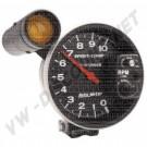 Compte-tours Autometer diamètre 125mm avec shift light 10.000 Tours et mémoires Sport Comp