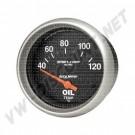 Kit température d'huile diamètre 67mm Autometer 40-120°