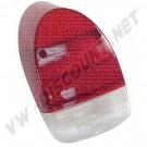 111945241LR Cabochon de feu  arrière rouge 1300 8/67-7/73 et 1302 (sans marquage CE)
