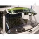 Casquette de pare brise, pare-soleil aluminium et plexiglass vert 8/1967-7/1979