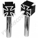 Loquets de porte Iron Cross