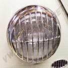 Set de 2 grilles de phare inox style 356