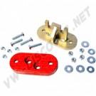 AC301651950 kit d'adaptation de boite -7/71 sur chassis 7/71-