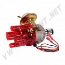 Allumeur complet à dépression avec système électronique et tête rouge transparente AC905005 | Dream-Machine.fr