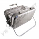 Barbecue inox avec logo Combi | dream-machine.fr