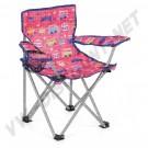 Chaise pliante enfant avec accoudoirs et porte boisson Combi et Coccinelle | dream-machine.fr